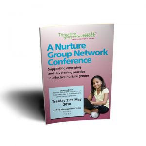 Nurture Group Network Conference Leaflet