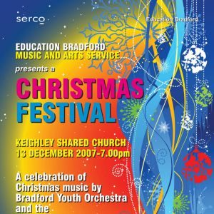 Education Bradford Christmas Festival Programme