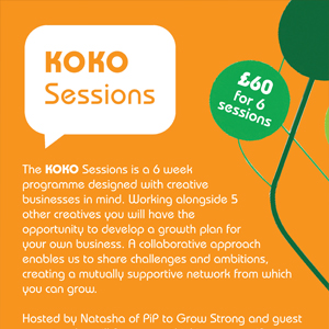 PIP to Grow Strong KOKO Sessions Flyer