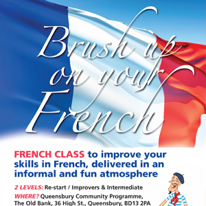French & Spanish Language Class Posters