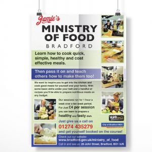 Jamie's Ministry of Food Flyer