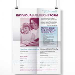 Nurture Group Network Membership Form