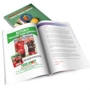 Bradford & District Table Tennis League Handbook